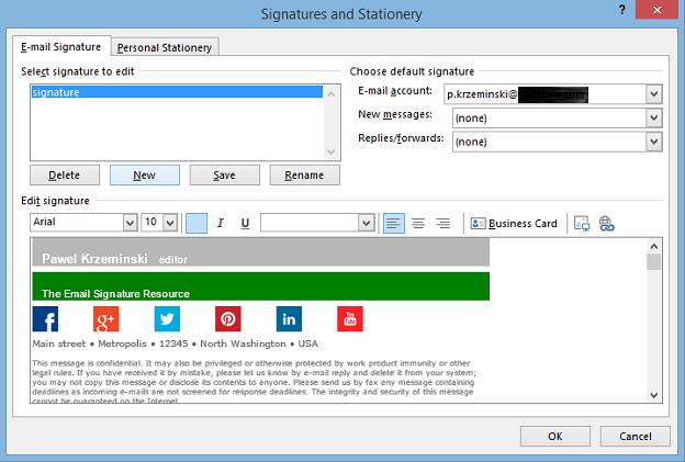 similiar microsoft outlook email signature templates keywords
